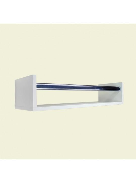 Prateleira U para Livros Marce Forming Branca 65x15x20cm 100% MDF - 1100007