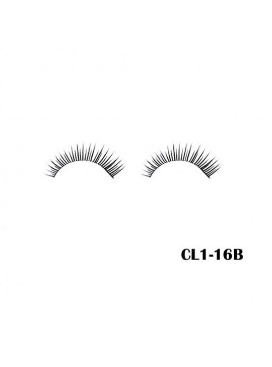 CÍLIOS POSTIÇOS MACRILAN - CL1-16B - REALCE O SEU VISUAL - MAQ10007