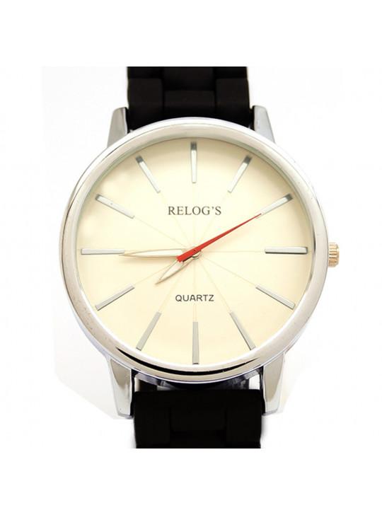 Relógio Feminino Neutral 43268 Análogico Relog's Preto - REL19095