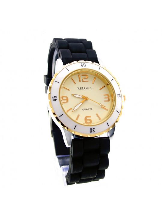 Relógio Feminino Cute 43272 Analógico Relog's Preto - REL19113
